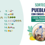 Sorteo de Nuestros Pueblos con Emojis – 1 cesta de productos manchegos