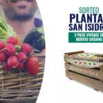 Sorteo Plantas San Isidro – 3 packs vintage de Huerto Urbano