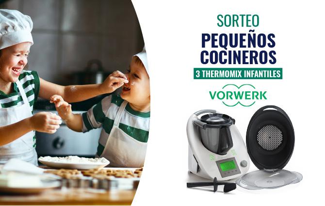 Sorteo Pequeños Cocineros – 3 thermomix infantiles
